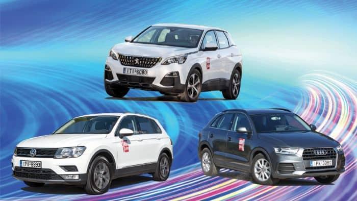 Σύγκριση Peugeot 3008
