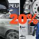 Peugeot After sales 20% έκπτωση
